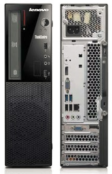 LENOVO PC ThinkCentre EDGE 73 SFF 10DU0000 G3250@3.2G,4GB,500GB72,DVD,VGA,DP,LPT,RS-232,6xUSB,W7P+W8.1P-1r on-site