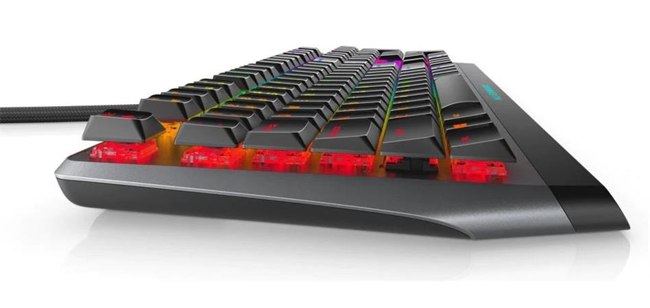 Alienware 510K Low-profile RGB Mechanical Gaming Keyboard - AW510K (Dark Side of the Moon)