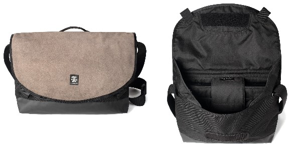 Crumpler Proper Roady Leather Slim Laptop M - suede leather/black