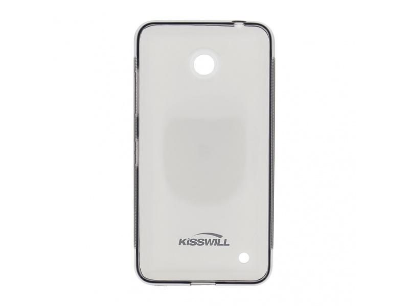 Kisswill TPU Pouzdro Black pro Nokia Lumia 640