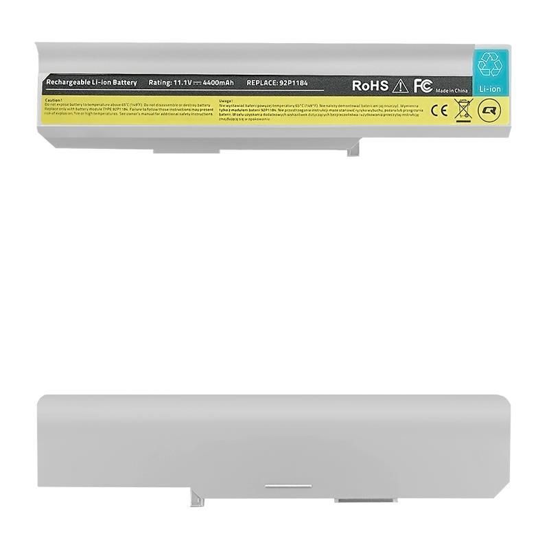 Qoltec Long Life Notebook Battery - Lenovo IBM 3000 | 4400mAh | 11.1V