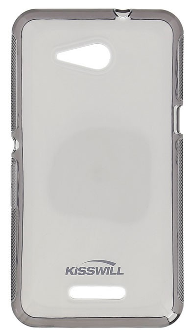 Kisswill TPU Pouzdro Black pro Xperia E4g