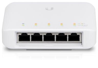 UBNT UniFi Switch Flex [5x Gigabit, 1xPoE In, 4xPoE Out]