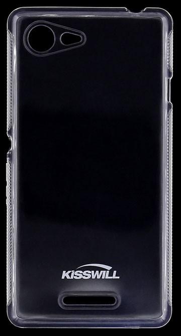 Kisswill TPU Pouzdro Transparen pro Xperia E3