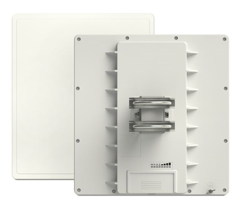 QRT 5 ac - RB911G-5HPacD-QRT, 802.11ac HP, 24dbi dual, 5GHz, ROS L4, GPOE, GLAN, PSU, pole mount