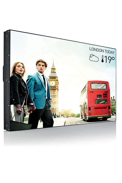 "55"" D-LED Philips BDL5588XL-FHD,IPS,500cd,OPS,24/7"