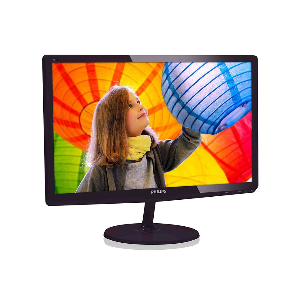 "Philips LCD 247E6QDAD 23,6""wide/1920x1080/5ms/20mil:1/VGA/DVI/HDMI/MHL/LED/IPS/repro"