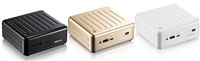 ASRock BEEBOX N3000-4G128S/W, N3000, 4GB DDR3L-1600, 128GB mSATA SSD, White
