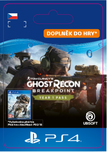 ESD CZ PS4 - Ghost Recon Breakpoint Year 1 Pass