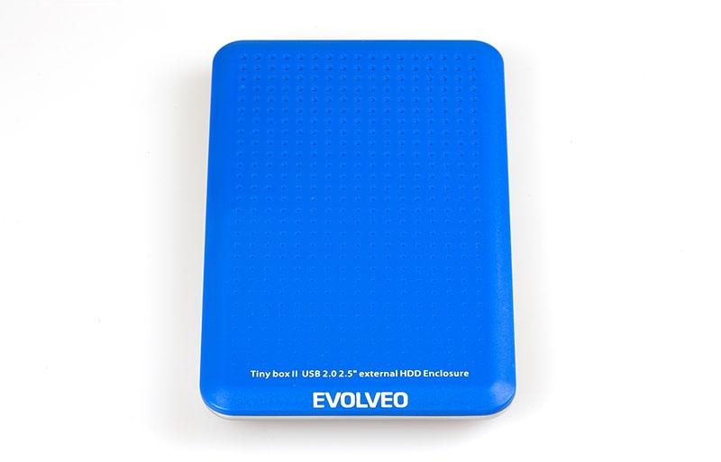 """EVOLVEO TinyBox II - 2,5"""" externí rámeček na HDD, USB 2.0"""