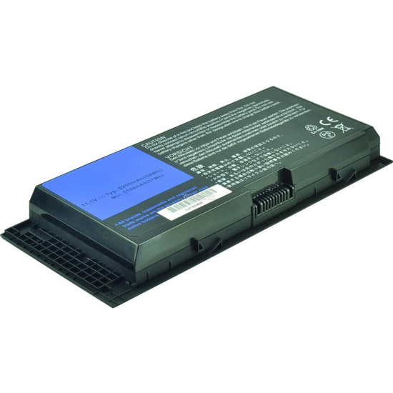2-Power baterie pro Dell Precision M4600, Li-ion, 5200 mAh, 11.1V