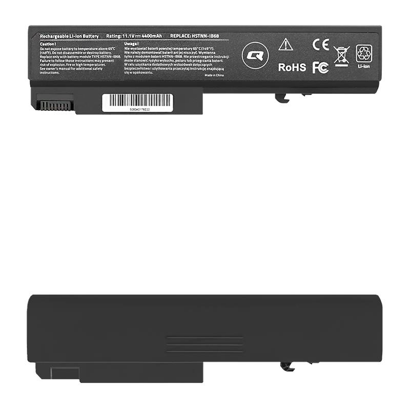 Qoltec Long Life Notebook Battery - HP EliteBook 6930p | 4400mAh | 11.1V
