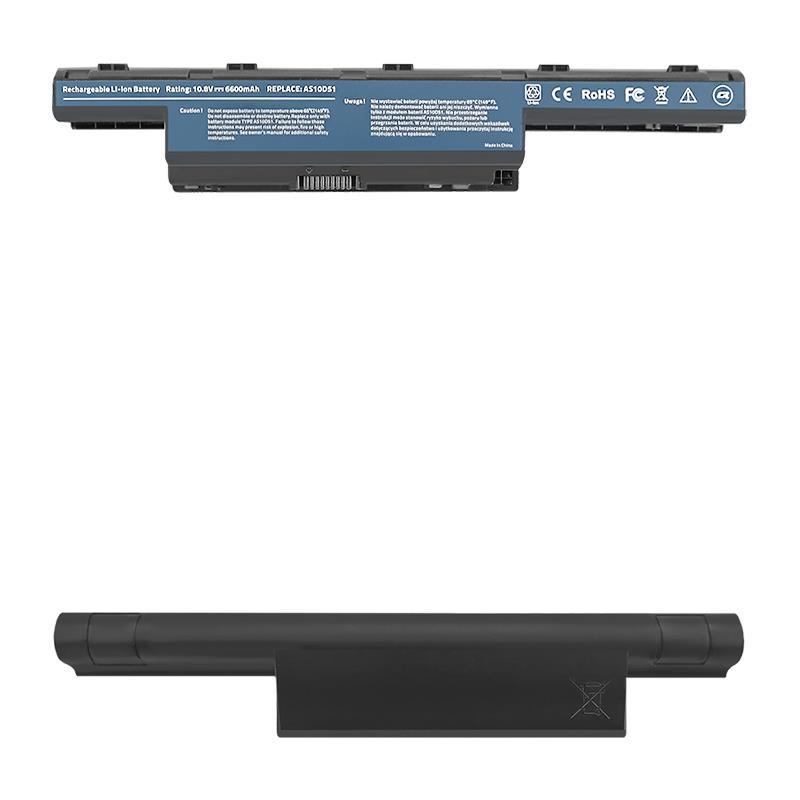 Qoltec Long Life Notebook Battery - Acer Aspire 4741   6600mAh   11.1V