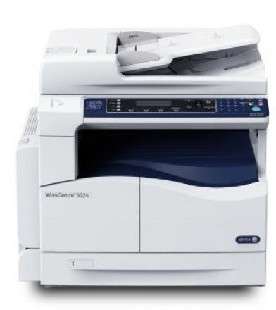 Xerox WC5024, ČB laser. mult. A3, DADF, DUPLEX, 24