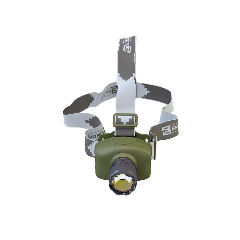 Emos LED svítilna čelovka XG-8102, 3W LED, ZOOM, 3x AAA