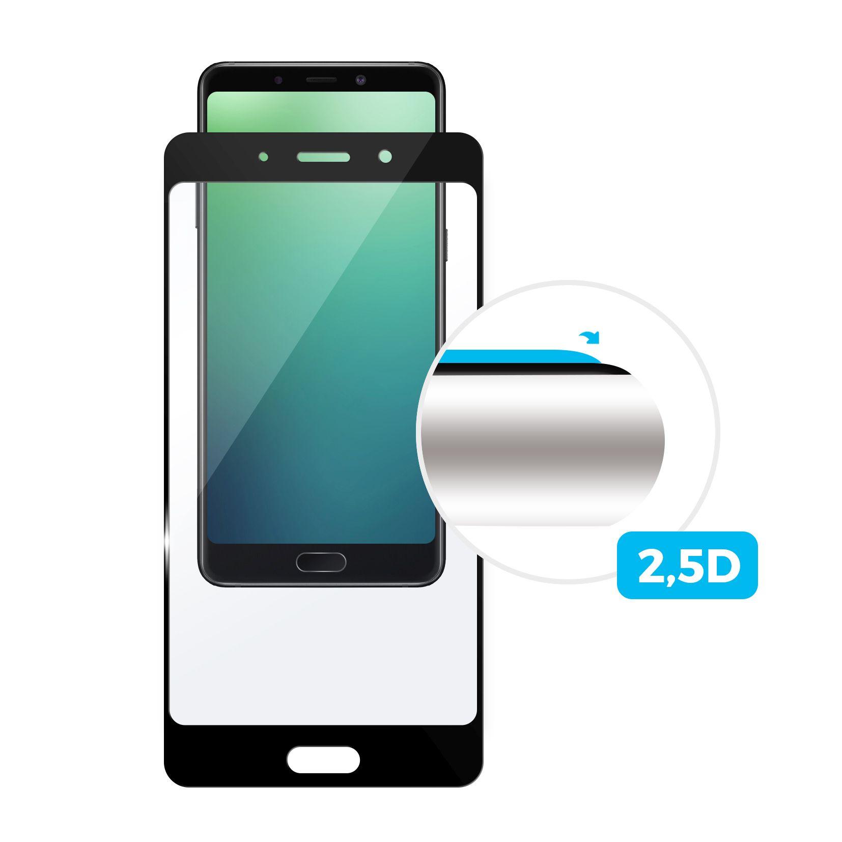 Sklo FIXED Xiaomi Mi9 Lite, plné lepení