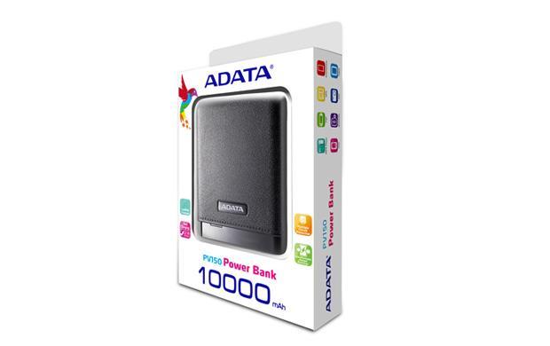 ADATA PV150 externí baterie 10000mAh (pro smatphony, tablety) černá