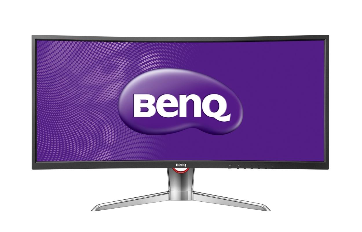 """35"""" LED BenQ XR3501-QHD,2xHDMI,DP,prohnutý"""