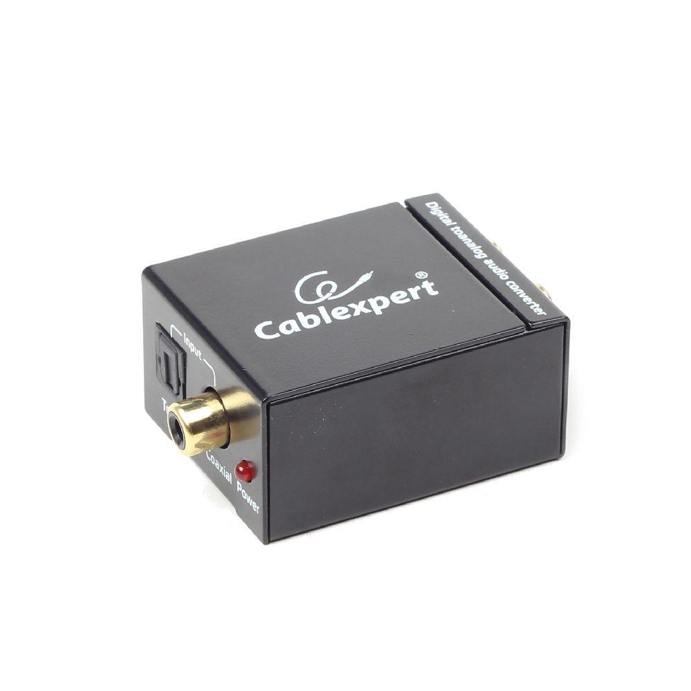 GEMBIRD Datový extender digital na analog audio konvertor, SPDIF/RCA