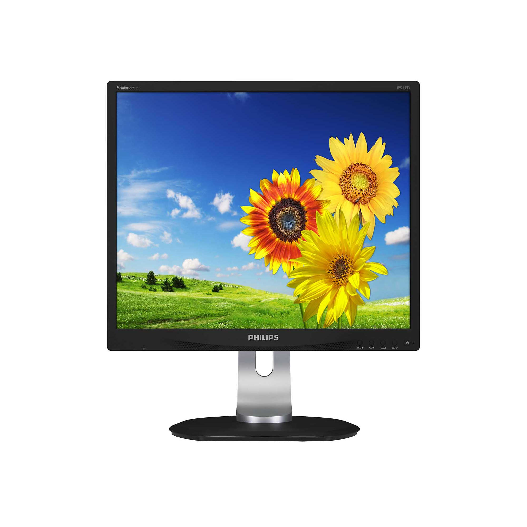 "19"" LCD Philips19P4QYEB - 1280x1024,DVI,DP,rep"