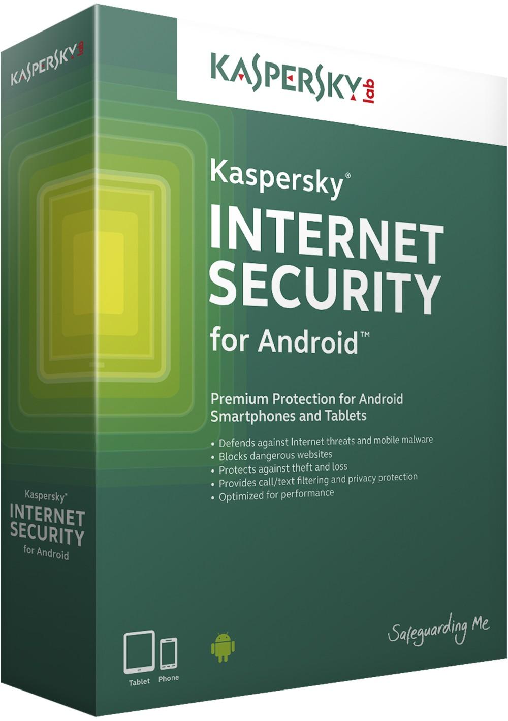 Kaspersky Internet Security for Android CZ, 2x mobil nebo tablet, 12 měsíců - (ESD)