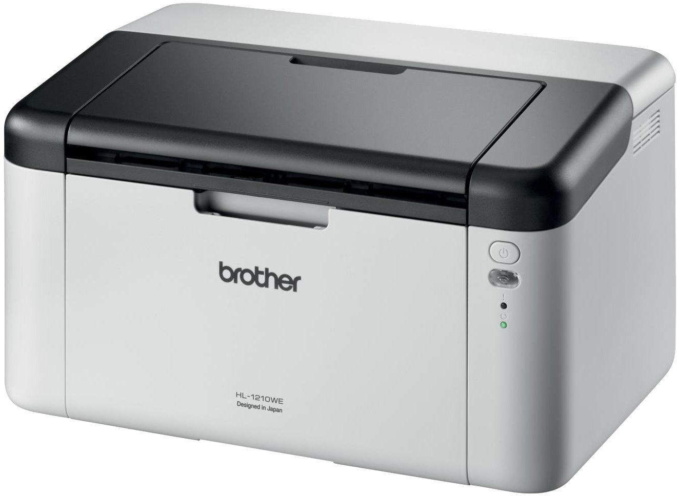 Brother HL-1210WE (20str.,HQ-1200dpi, 1MB, GDI, USB 2.0) + WiFi