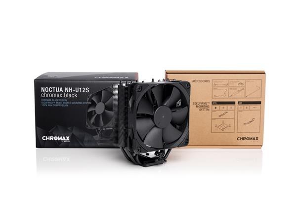NOCTUA NH-U12S chromax.black - chladič procesoru
