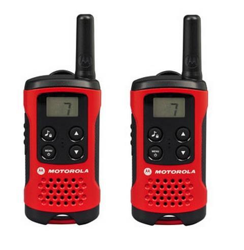 Motorola TLKR T40 vysílačka - 4 km, 8 kanálů (bez CZ/SK manuálu)