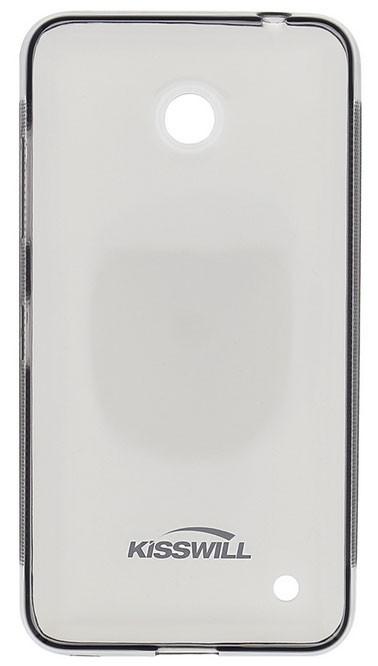 Kisswill TPU Pouzdro Transparent pro Lumia 640