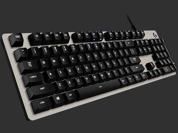 Logitech G413 Mechanical Gaming Keyboard - SILVER - US INT L - INTNL