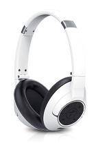 GENIUS headset - HS-930BT/sluchátka s mikrofonem/ Bluetooth 4.0/ dobíjecí/ bílé