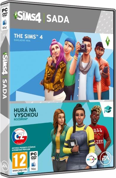 PC - The Sims 4 + Hurá na vysokou - bundle