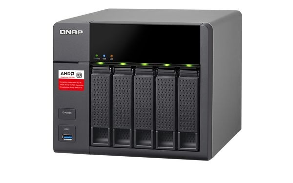 QNAP TS-563-2G Turbo NAS server, 2 GHz QC/2GB/5x HDD/2xGL/R 0,1,5,6/iSCSI