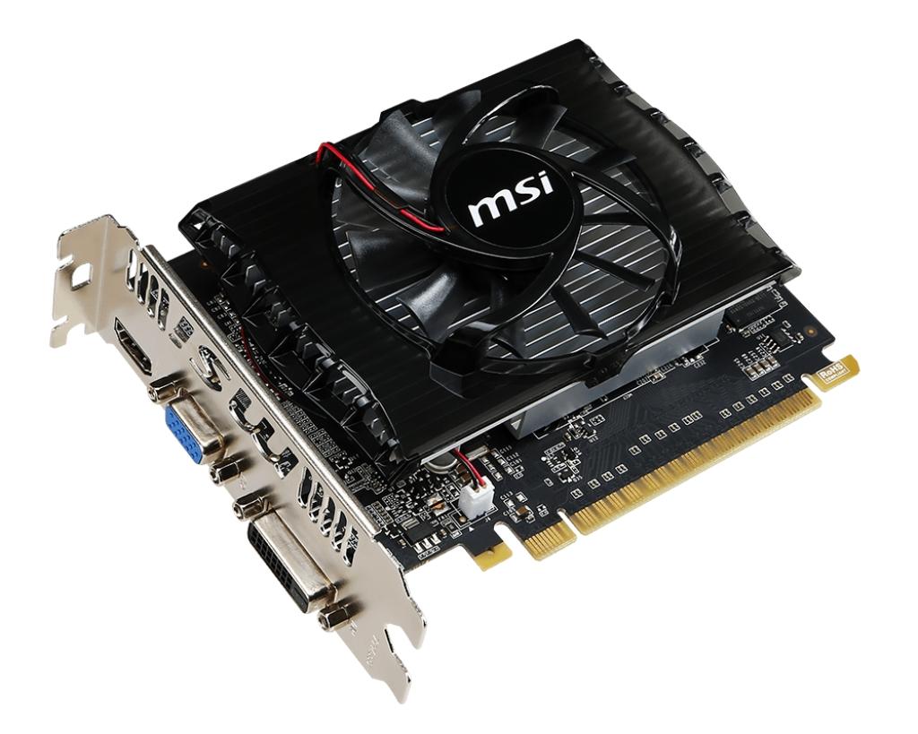 MSI N730-2GD3V2, 2GB DDR3, 128bit, DVI-D, HDMI, D-SUB