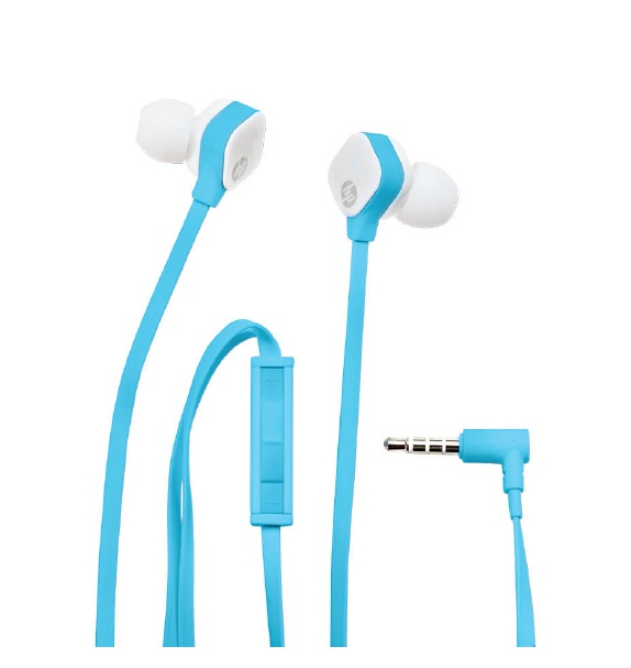 HP In Ear H2310 Blue Headset - REPRO
