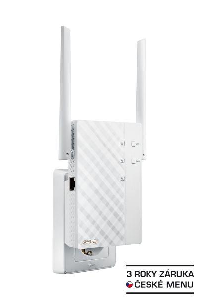 ASUS RP-AC56, Dvoupásmový přístupový bod / opakovač / multimediální most třídy Wireless-AC1200