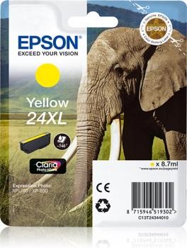Inkoust Epson T2434 yellow XL | 8,7 ml | XP-750/850