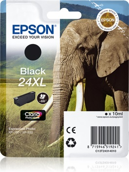 Inkoust Epson T2431 Black XL | 10,0 ml | XP-750/850