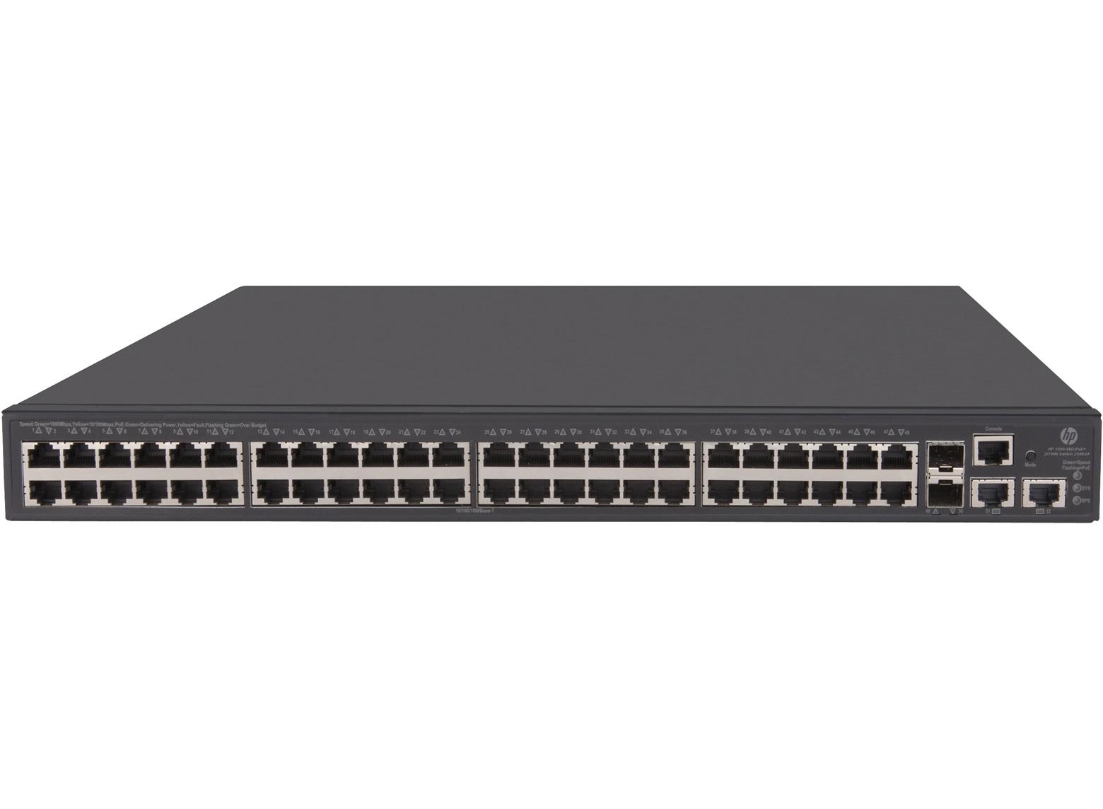 HPE 1950 48G 2SFP+ 2XGT PoE+ Switch