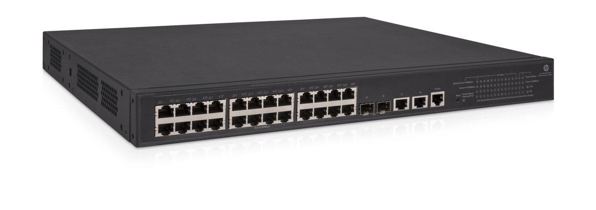 HPE 1950 24G 2SFP+ 2XGT PoE+ Switch