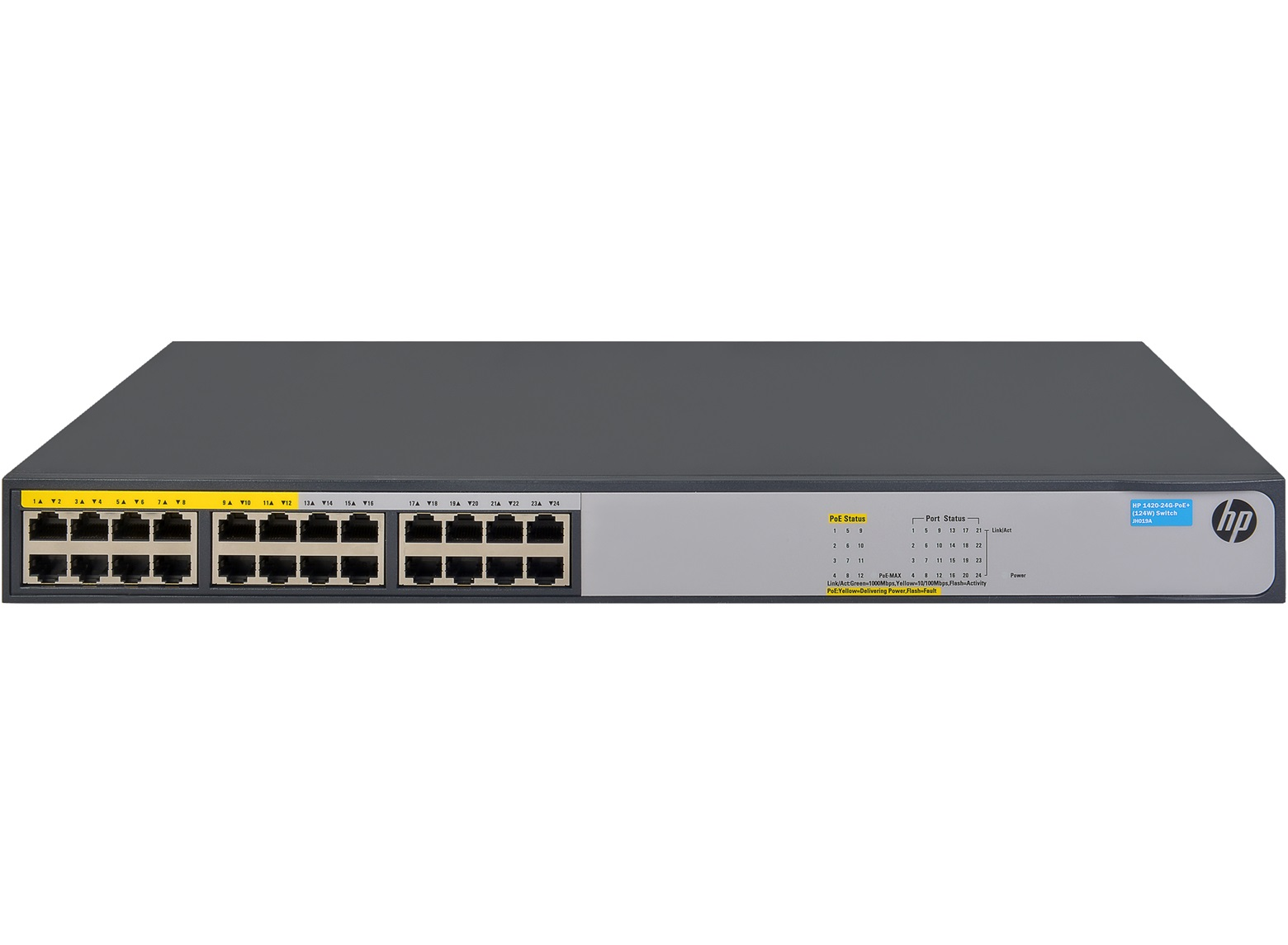 HPE 1420 24G PoE+ (124W) Switch