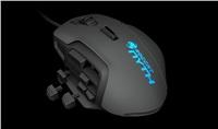 NYTH Modular MMO Gaming Mouse, Black