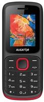 Aligator D210 Dual SIM, černo-červený