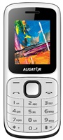 Aligator D210 Dual SIM, bílo-černý