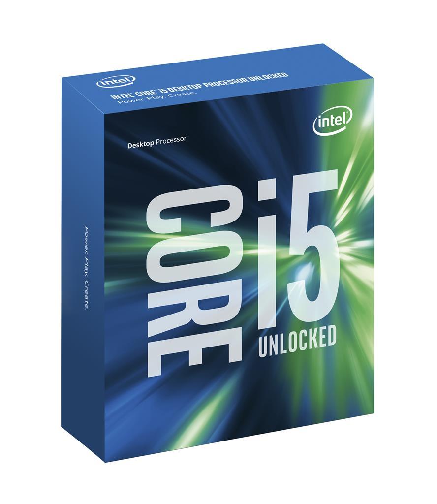 Intel Core i-5 processor Skylake i5-6600K 3,50 GHz/LGA1151/6MB cache - bey chladiče