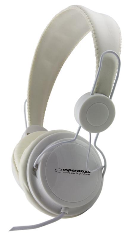 Esperanza EH148W SENSATION Stereo sluchátka, skládací, ovl. hlasitosti, 3m