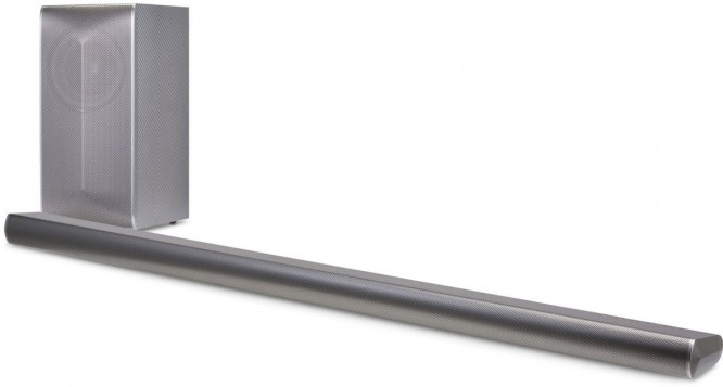 LG LAS750M Soundbar se subwooferem
