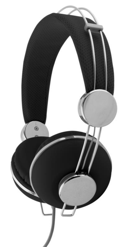 Esperanza EH149K MACAU Stereo sluchátka, skládací, ovl. hlasitosti, 3m