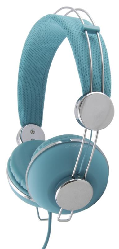 Esperanza EH149T MACAU Stereo sluchátka, skládací, ovl. hlasitosti, 3m