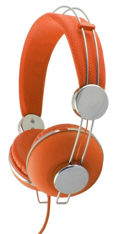 Esperanza EH149O MACAU Stereo sluchátka, skládací, ovl. hlasitosti, 3m